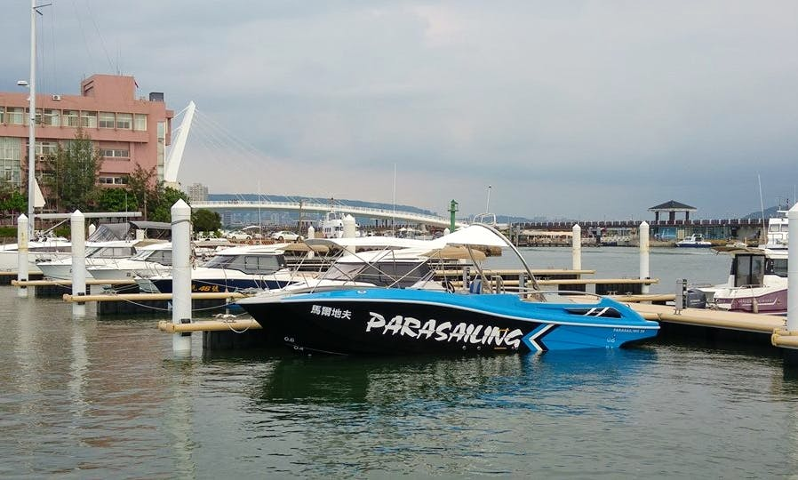 34' Powerboat for 8 People at Penghu, Taiwan