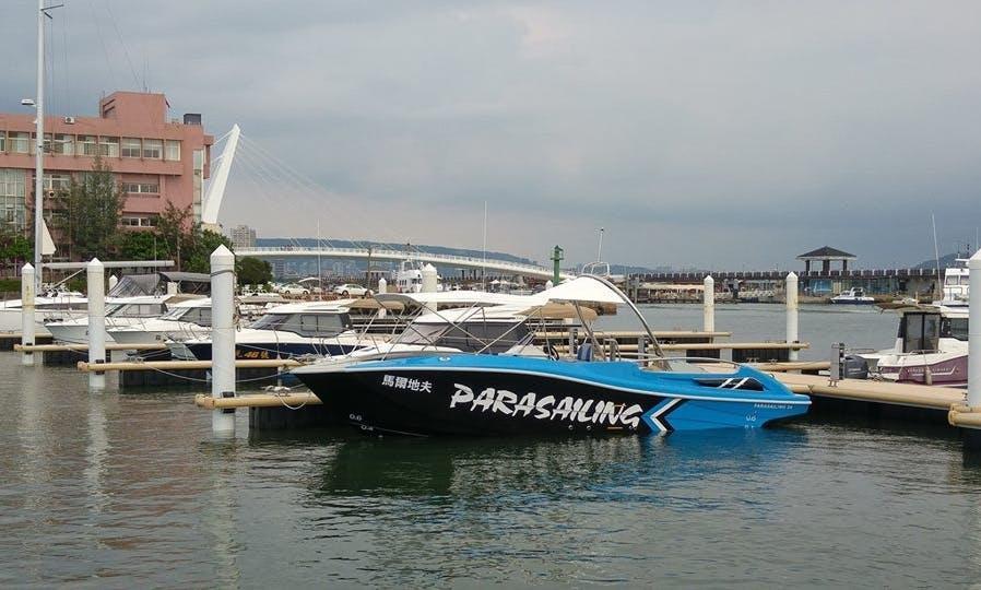 34' Powerboat for 8 People at Penghu, Taiwan