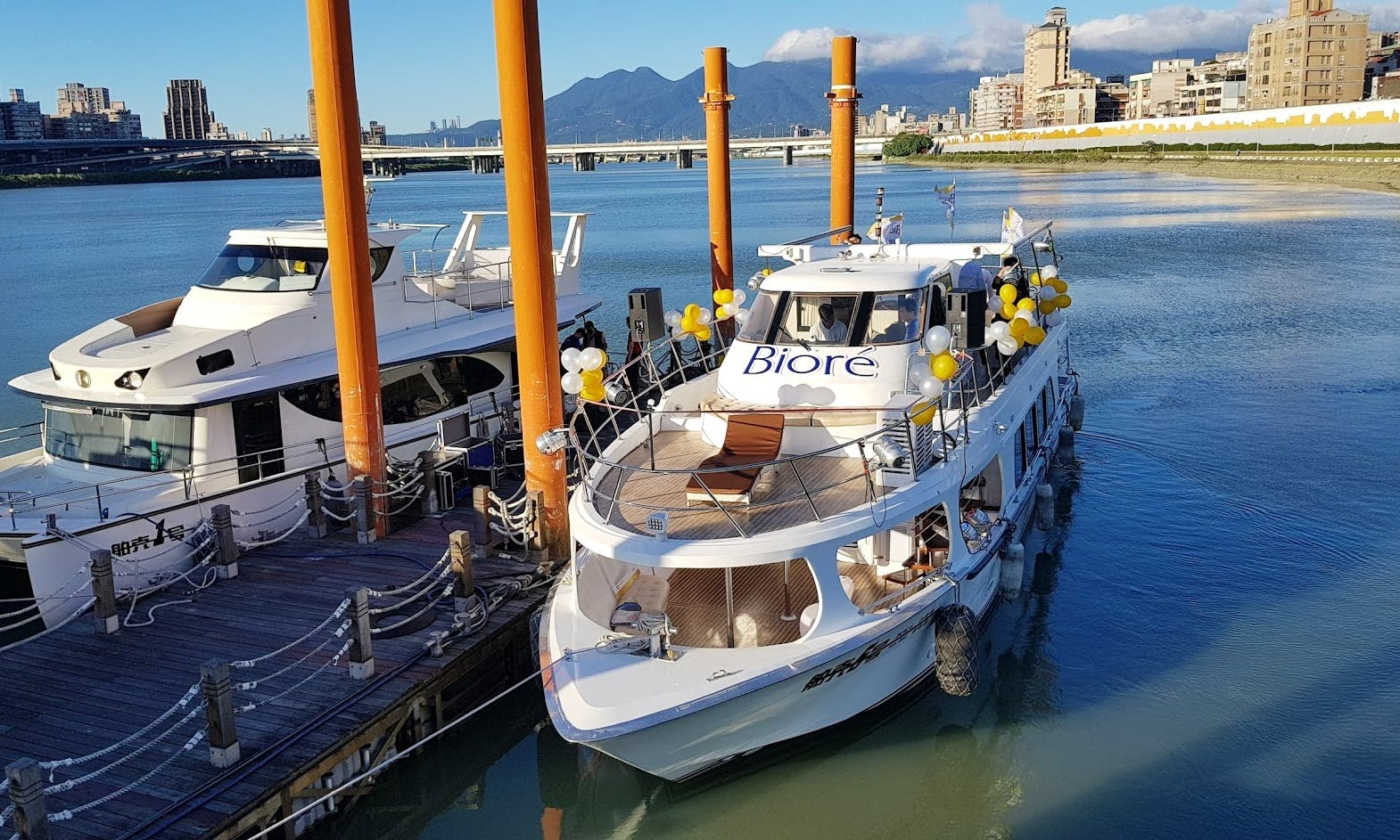Hire a 55' Power Mega Yacht for Luxury Party in Datong District