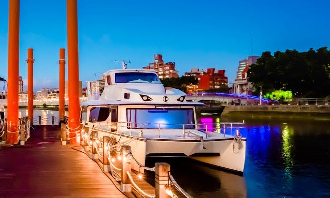 49' Party Motor Yacht Rental in Taipei City