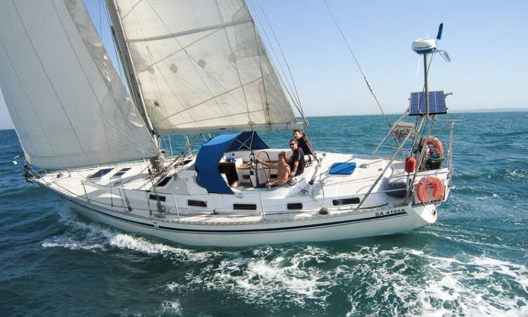 43' Montevideo Sailing Yacht Charter in Hualien Port