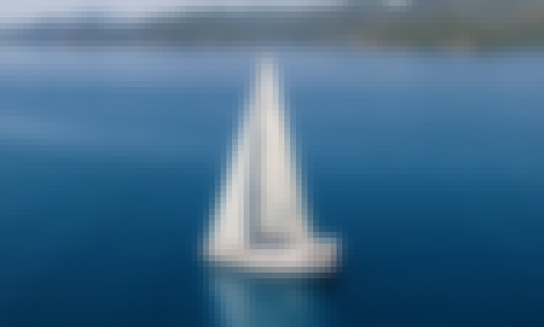 "Crewed Sailing Yacht Charter Hanse 540e ""Ocean Blue"" in Bodrum, Turkey"