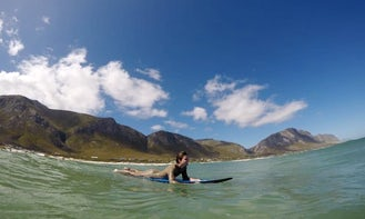 Guided Surf Lessons in Kleinmond, South Africa