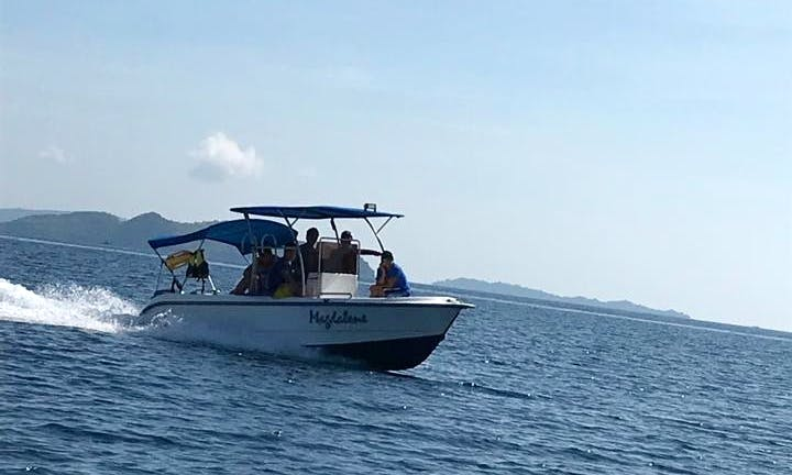 CORON SPEEDBOAT RENTALS for Island Hopping