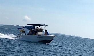 Bowrider Sportster Speedboat or Island Hopping