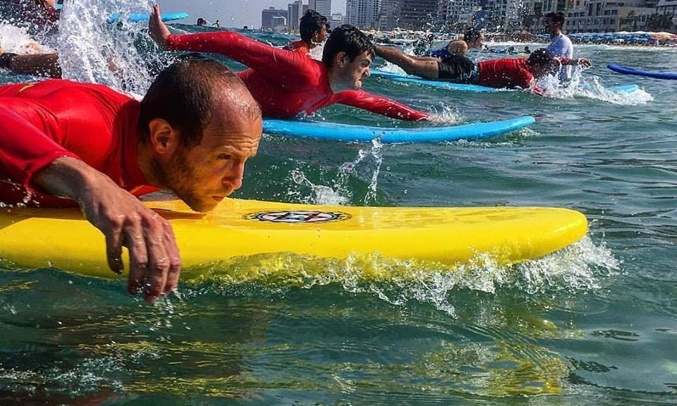 King of the Waves! Private Surfing Lessons In Tel Aviv, Israel!