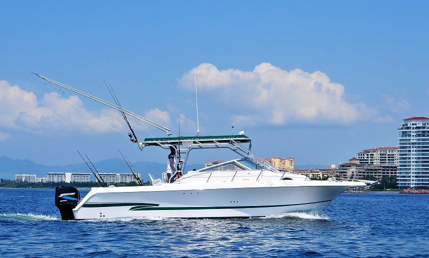 Proline 30 / Fishing Boats rental in Puerto Vallarta