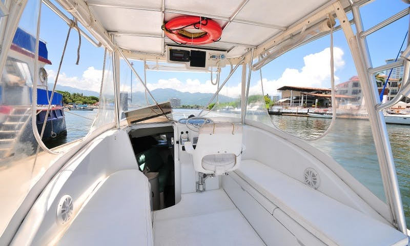 LUHRS 25 / Fishing Boats rental in Puerto Vallarta