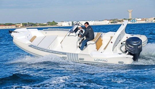 Lomac Speedboat With 200 Hp Suzuki Motor In Ibiza