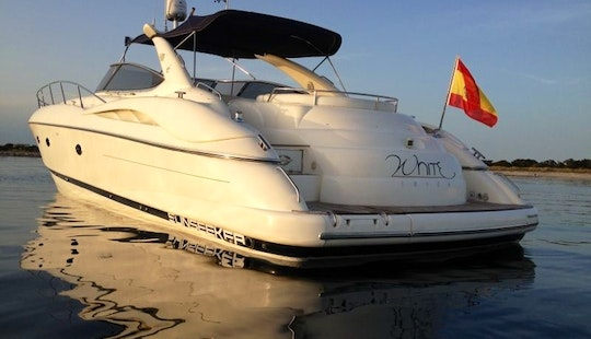 Cruise Aboard The Sunseeker Predator 58 Power Mega Yacht With Jetski In Ibiza
