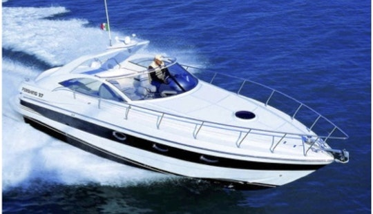 Very Cool Pershing 37 Motor Yacht In Ibiza