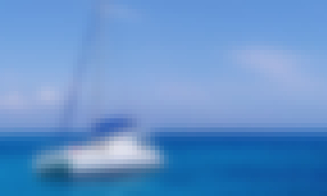 Join Us For A Full Or Half Day private Catamaran Holiday sailing Ibiza and Formentera, Spain