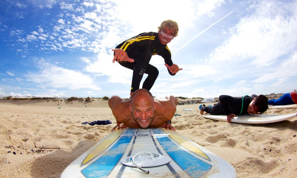 Surf Lessons for All Ages in Esmoriz