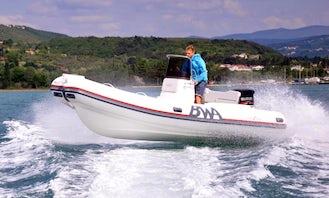 Rent BWA Sport 18 GT + Suzuki 100 RIB from Zadar and explore Northern Dalmatia