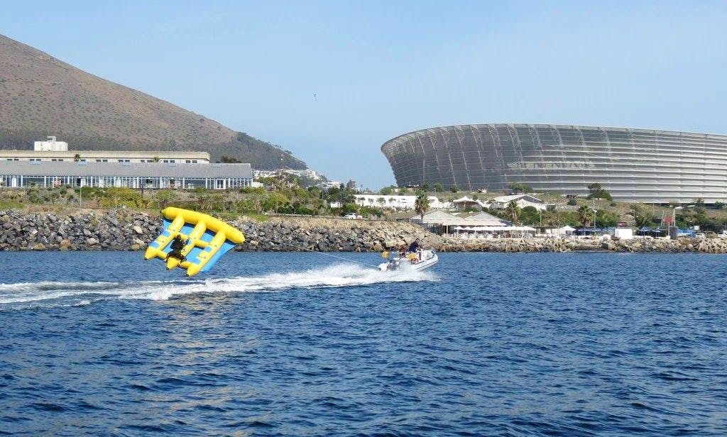 Hang On and Enjoy a Flying Mattress Adventure in Cape Town, South Africa