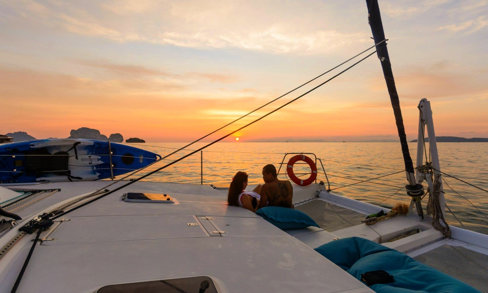 36' Cruising Catamaran Charter in Krabi