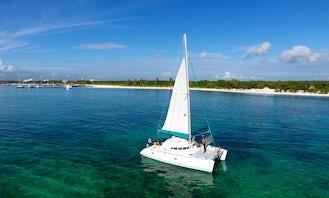 Crewed Charter on 42' Lagoon Sailing Catamaran from Playa del Carmen