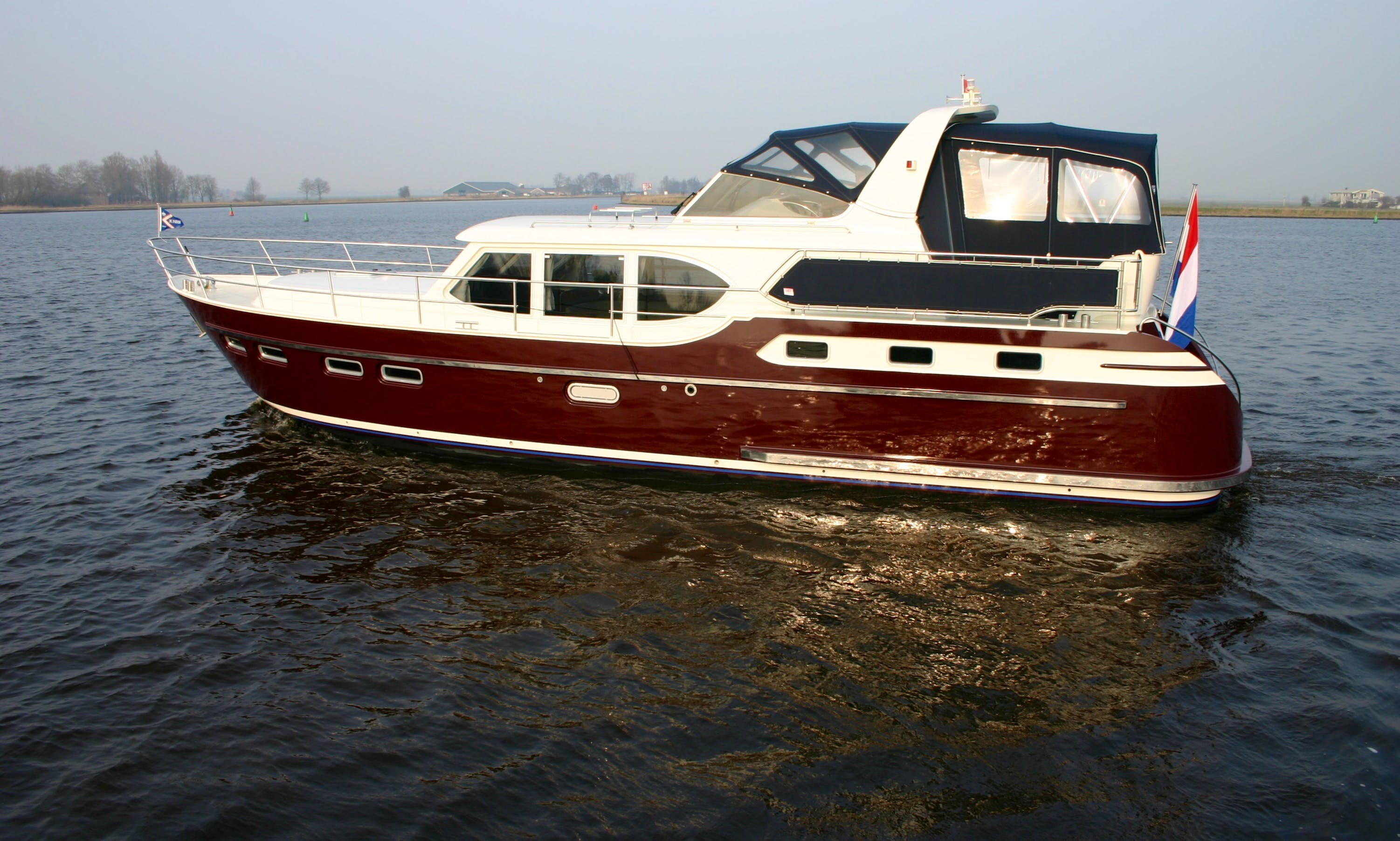 Charter a 48' BWS 1500 Motor Yacht in Friesland, Netherlands