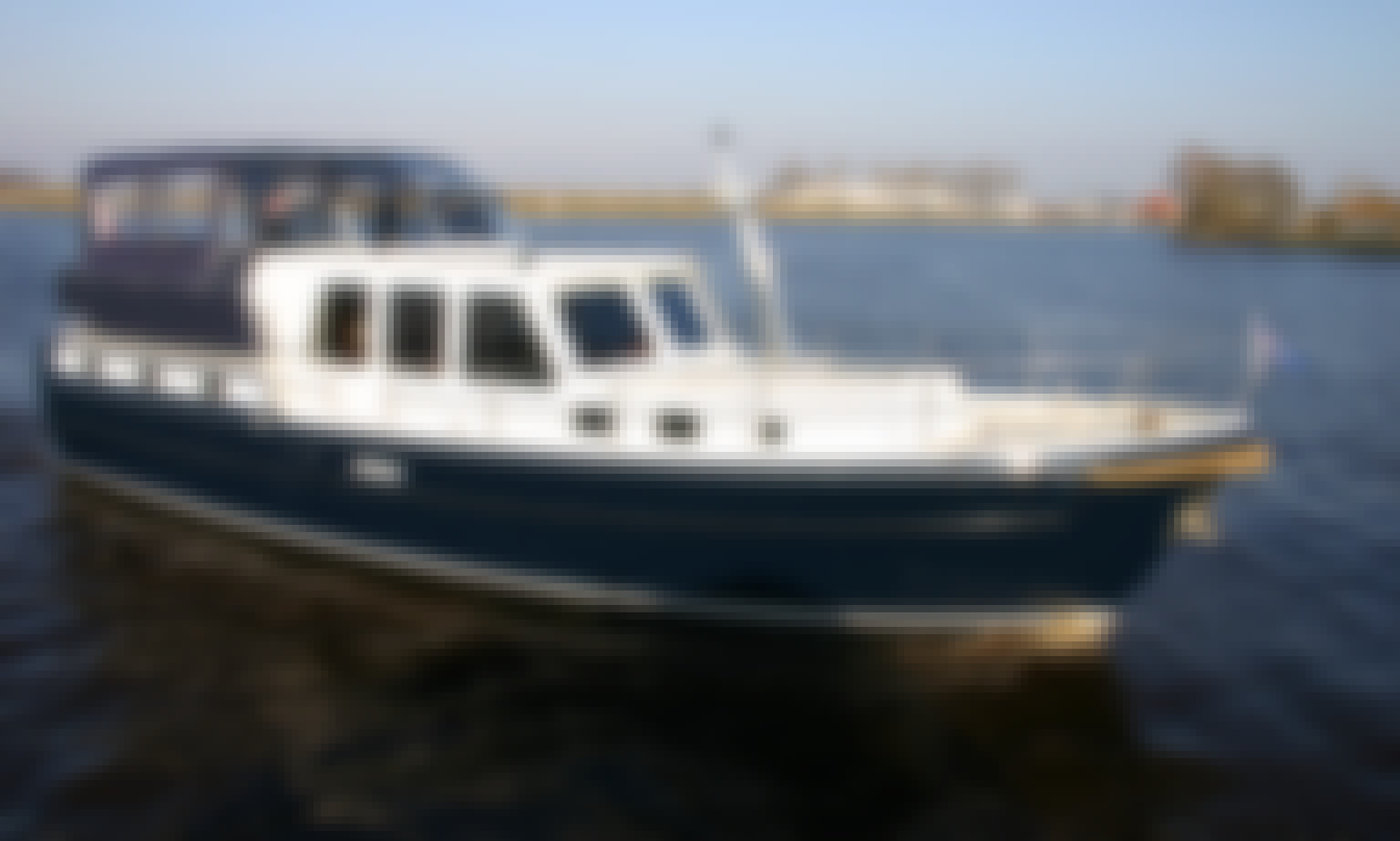 Enjoy this Aquanaut 1250 Motor Yacht Rental in Terherne, Netherlands