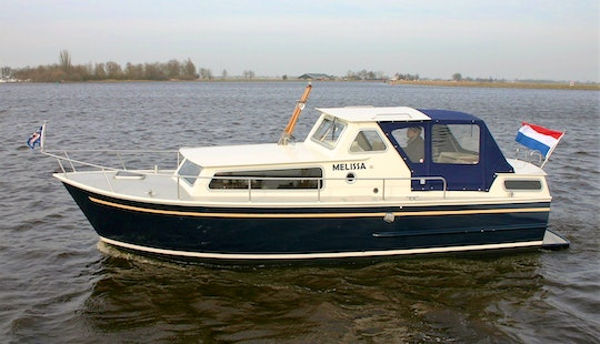 Charter A Unique And Classic Curtevenne 850 Motor Yacht For 4 Person In Terherne