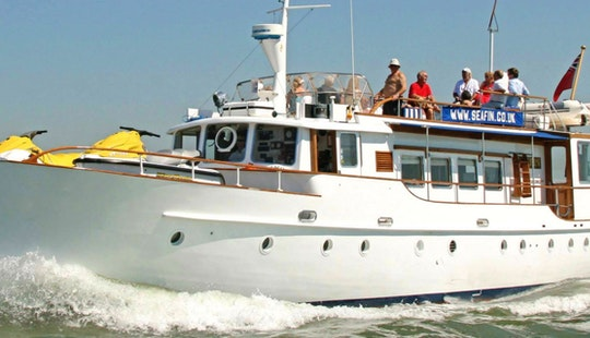Charter On Seafin In Southampton