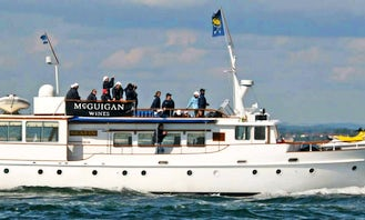 Elegant 72' Seafin Motor Yacht with Jetski and Paddleboard in Southampton