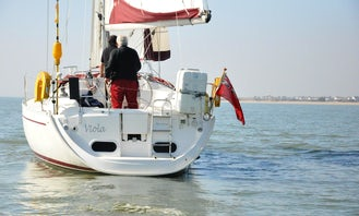 "Charter the ""Viola"" 36ft Gib Sea Sailing Yacht in Southampton"