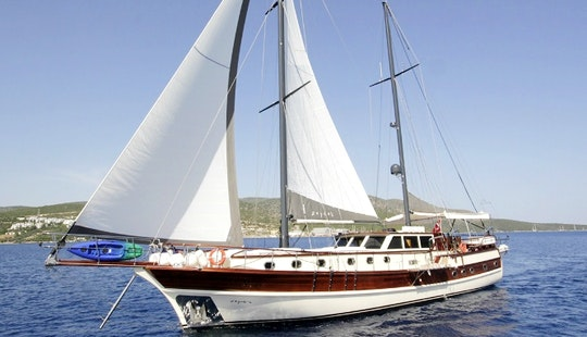 78' Zeyno's Gulet Charter For Up To 12 People In Bodrum, Turkey