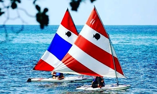 First Sail Lessons in Rincón, Puerto Rico