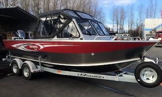 24 ft Hewescraft Sea Runner Fishing Boats Rental in Seward, AK