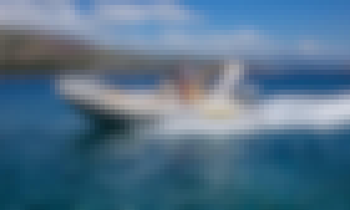 Aquamax B20F RIB Boat Rental in Trogir