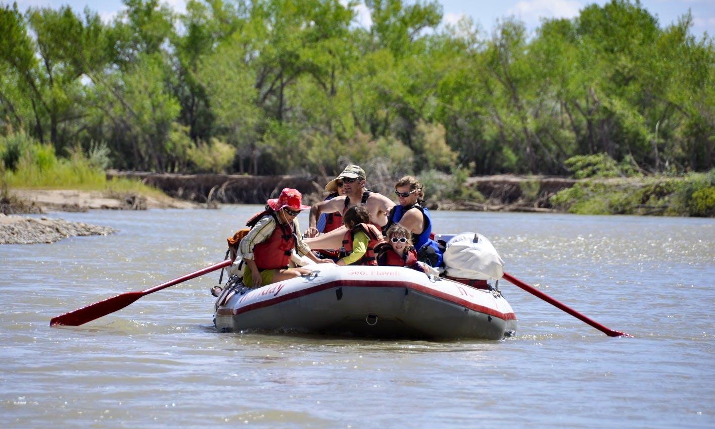 3-Day San Juan River Rafting Trip
