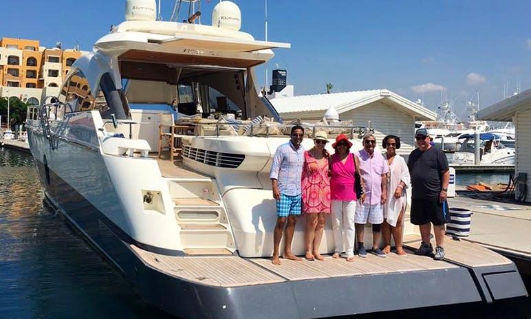 77' Aicon Power Mega Yacht Charter in Cabo San Lucas, Mexico