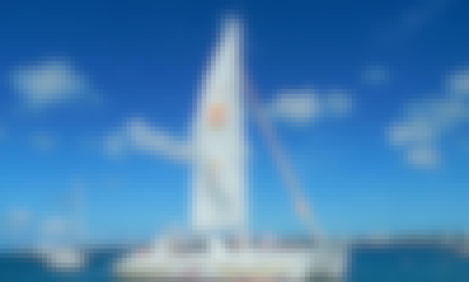 Cruising Catamaran Charter for Up to 65 People in St Maarten