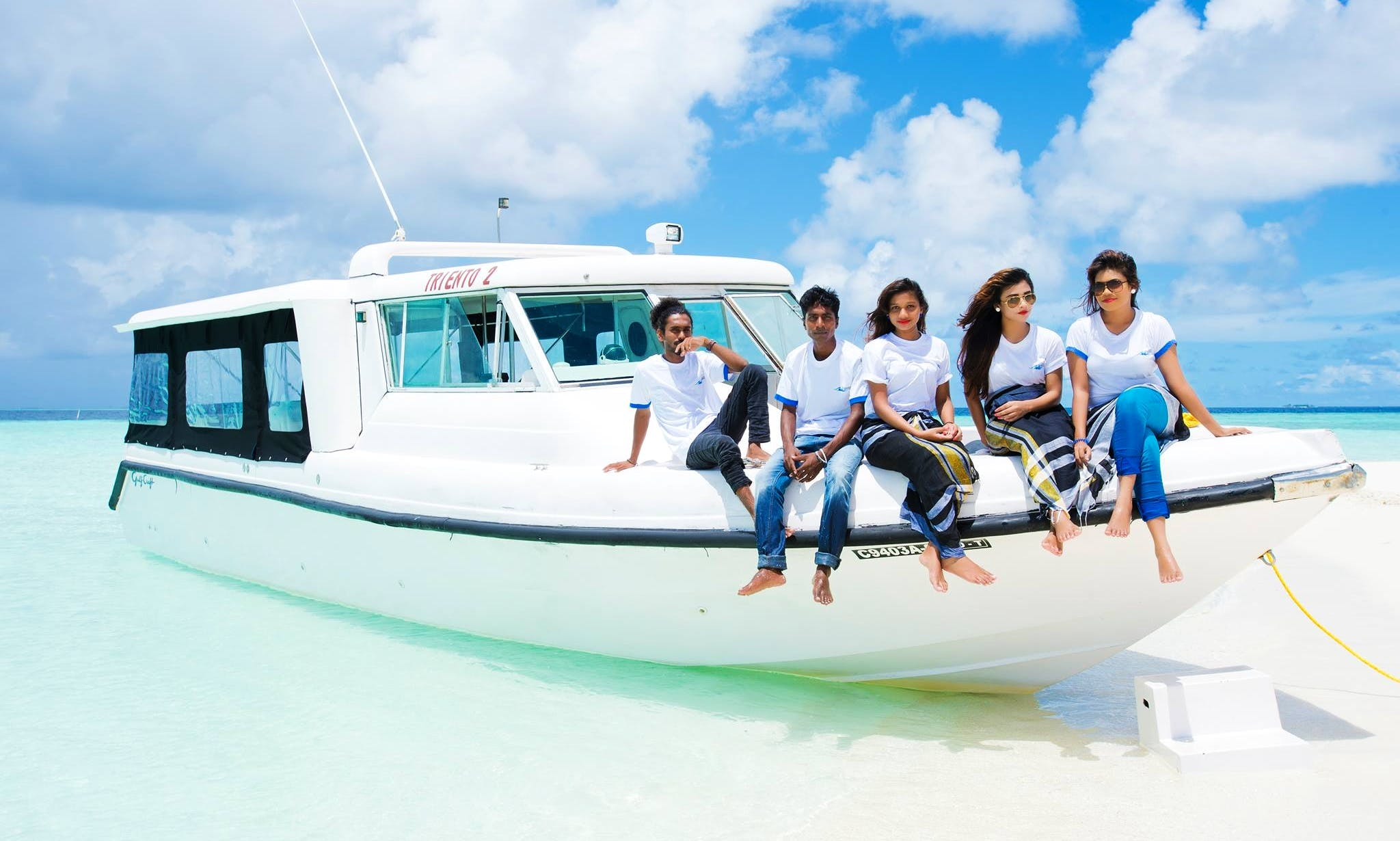 Private Power boat rental or fishing charter in Malé