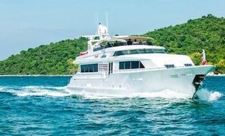 Broward 110 Luxury Super Yacht Charter in Pattaya, Thailand