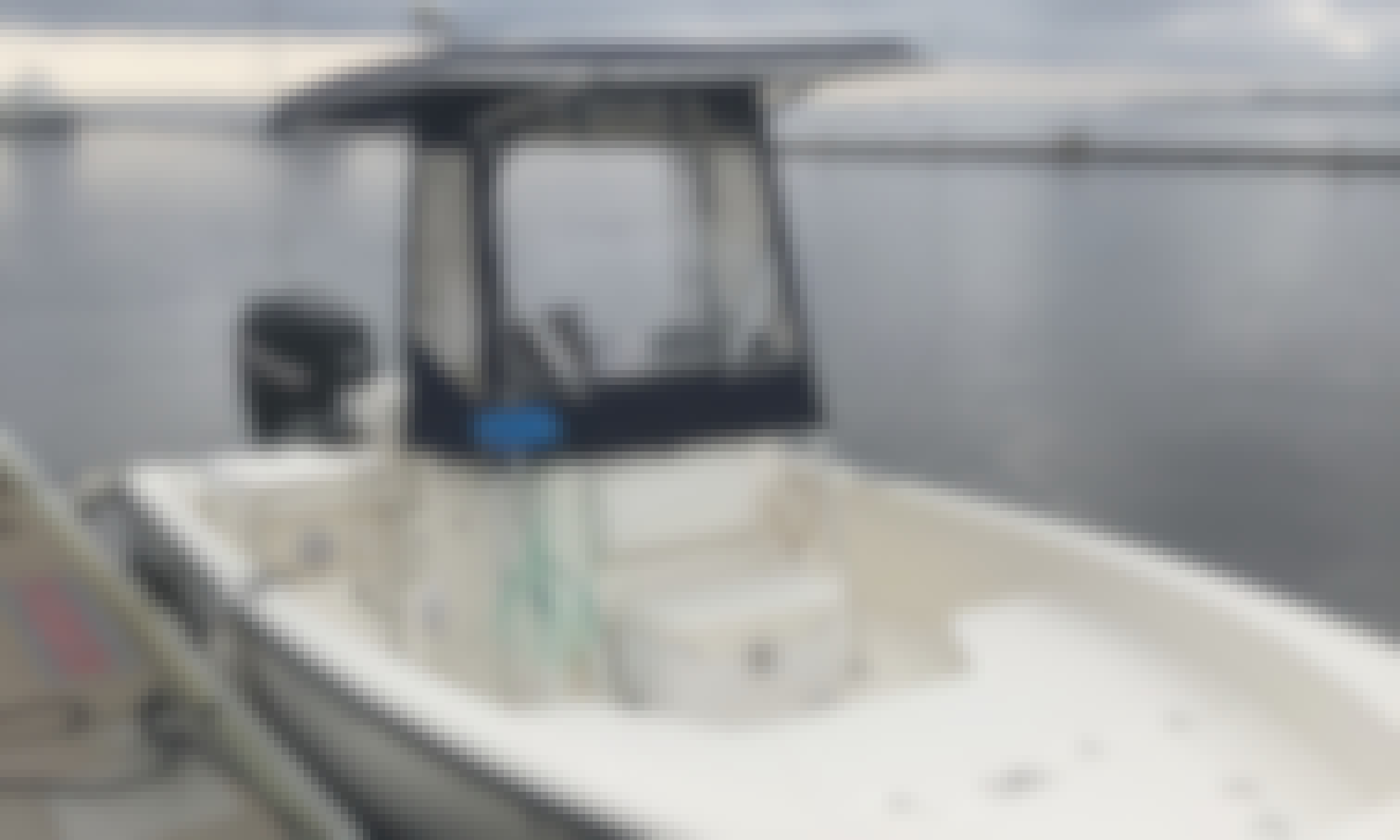 The best view of Charleston on 23ft Boston Whaler Center Console