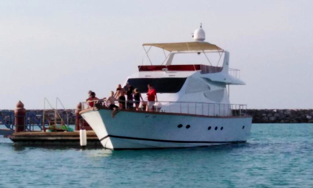 Experience Luxury Yacht Cruising on 70 ft Yacht-28 Guests capacity max