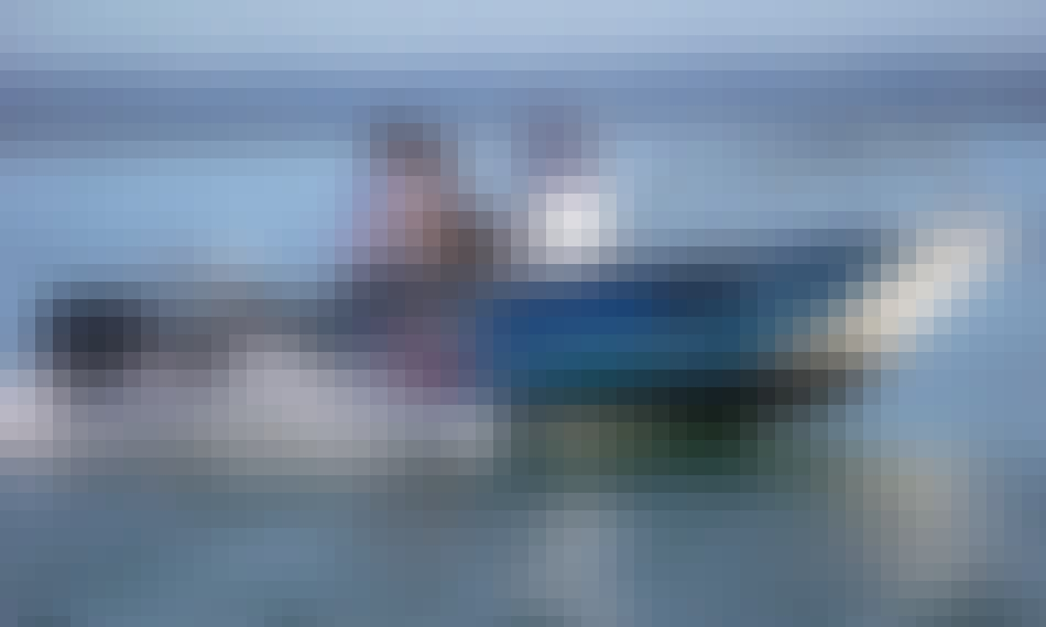 20' Ocean Whaler Fishing Boats in Port Douglas