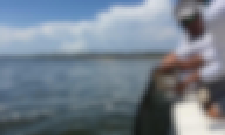 Port Saint Joe Fishing Trips and Island Tours with Captain Shawn