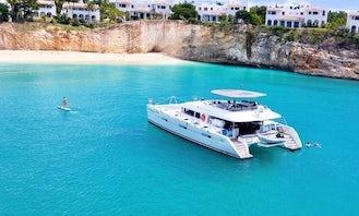 Sailing Catamaran Trips in St Maarten and surrounding islands.
