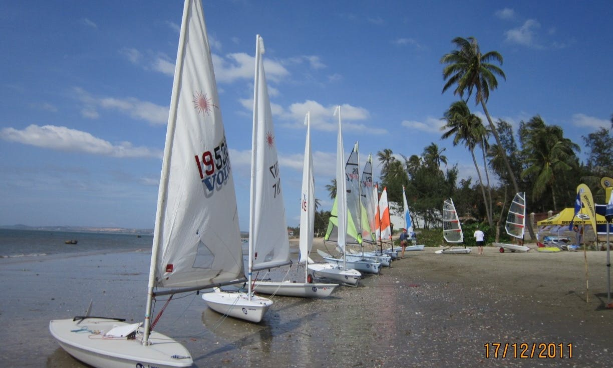 Sailboats Rental and Hands On Sailing Instruction in Vietnam