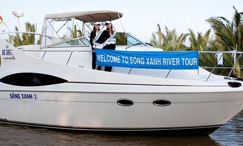 Sai Gon River Cruise aboard a 38' VIP Motor Yacht for 18 People