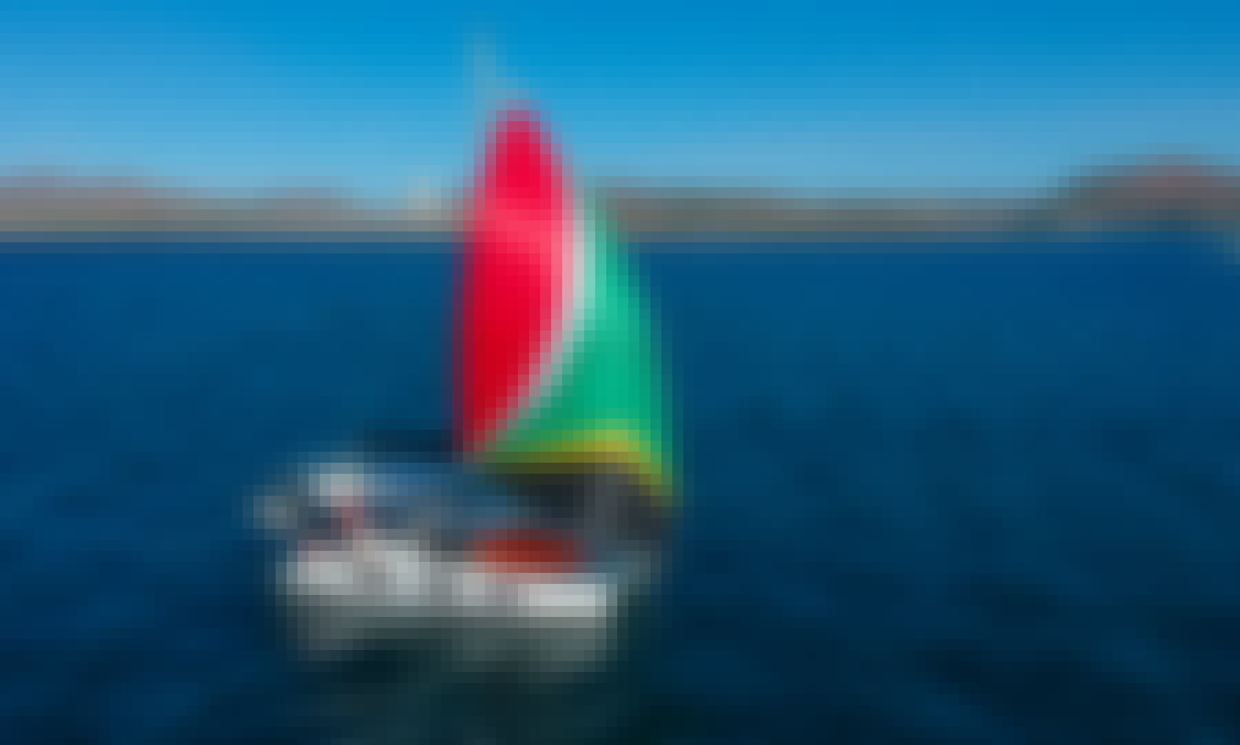 35 ft Catamaran Tru Yacht Charter for 8 People in La Paz, Mexico
