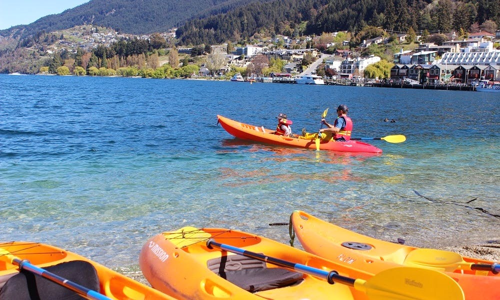 Double Kayak Hire In Queenstown