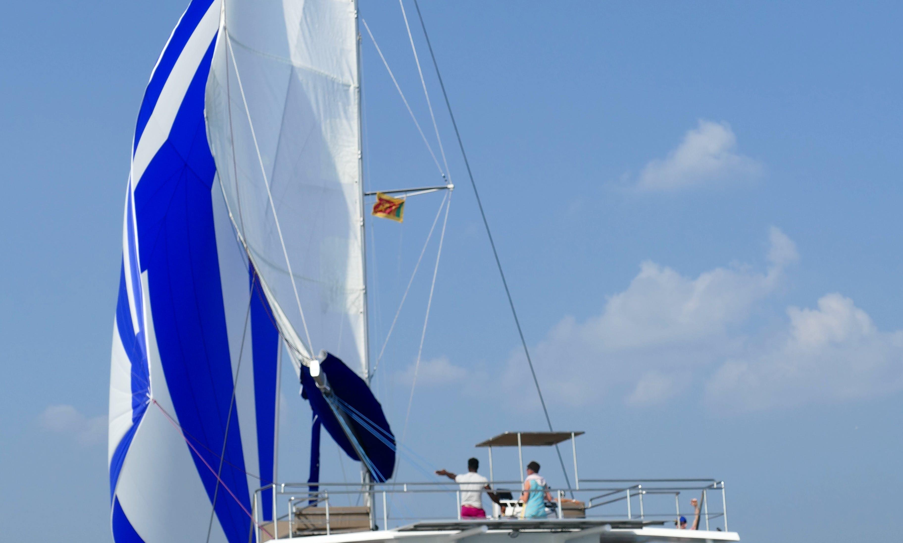 1 Night Private Cruise in Mirissa, Sri Lanka (No bareboat charter)