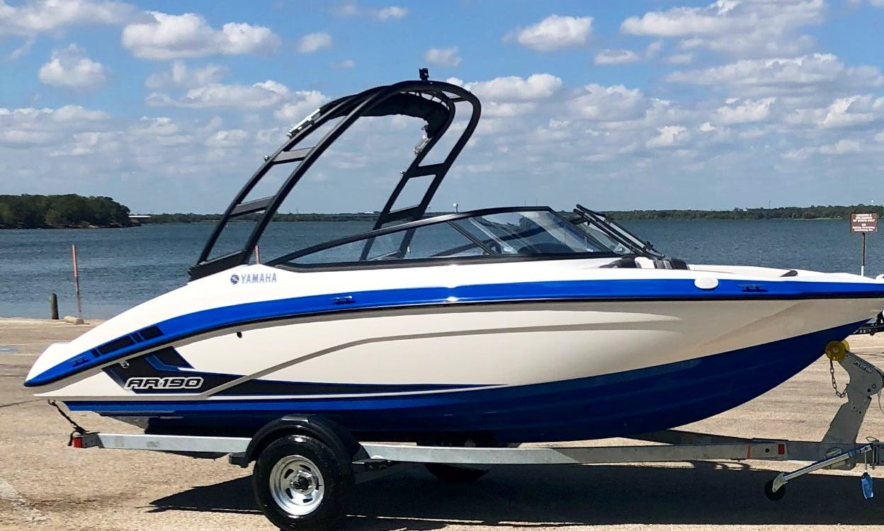2019 Yamaha AR190 Bowrider Rental in Little Elm, Texas