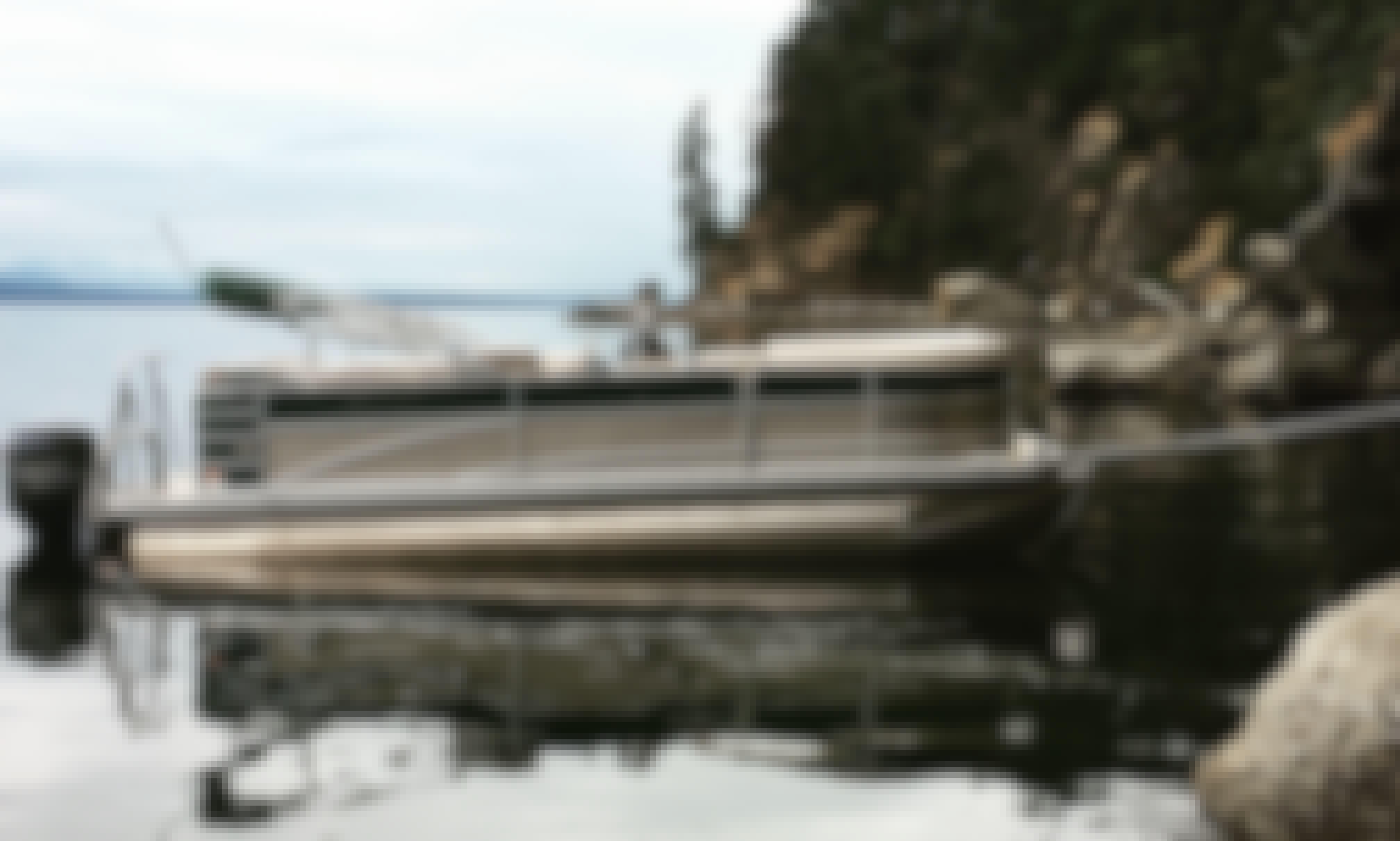 Pontoon for 11 People in Salt Spring Island, British Columbia