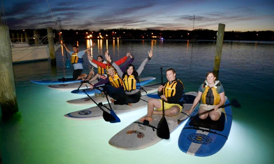 Glow Board Tours and SUP Rental Available in Oak Bluffs