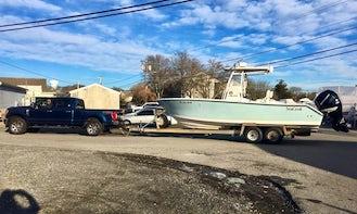 26' SeaCraft Master Angler Fishing Charter in Truro, Massachusetts